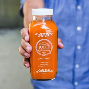 Pittsburgh Juice Company: Carrot apple ginger (unpasteurized)