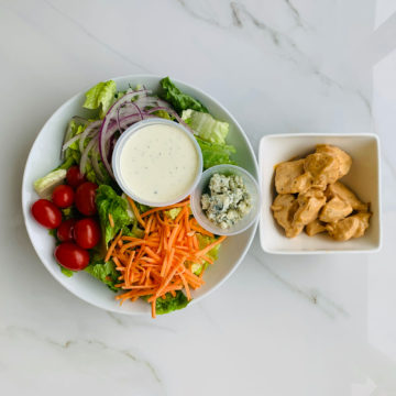 Salad: Buffalo chicken salad