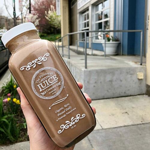 Pittsburgh Juice Company: Cashew Mocha (unpasteurized)
