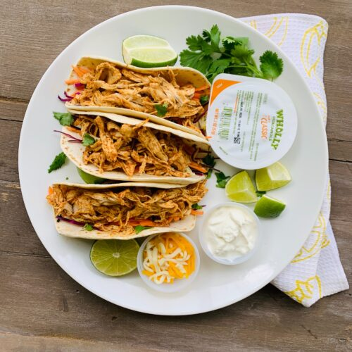 Slow cooked tacos