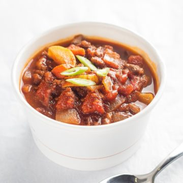 Vegan: smoky chili