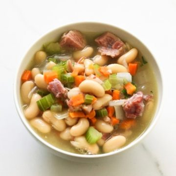 Soup: Ham and beans