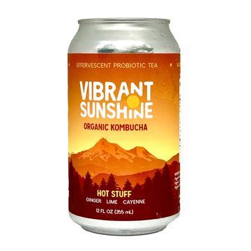 Vibrant Sunshine Kombucha: Hot Stuff