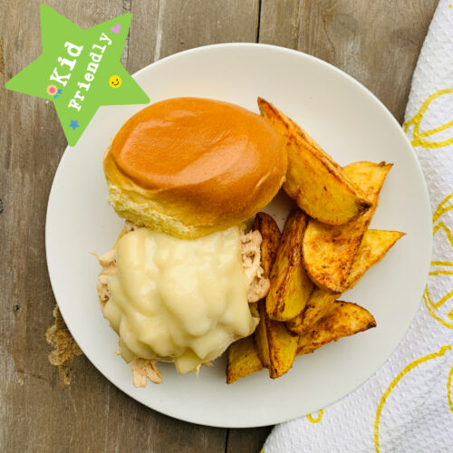 Kid's Menu: Chicken sliders with oven roasted potato