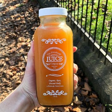 Pittsburgh Juice Company: Spiced Cider (unpasteurized)