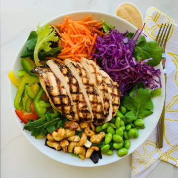 Salad: Thai chicken salad