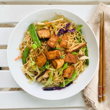Vegan/Vegetarian: Vegetable lo mein