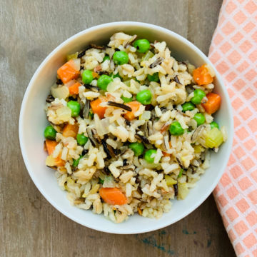 Wild brown rice medley