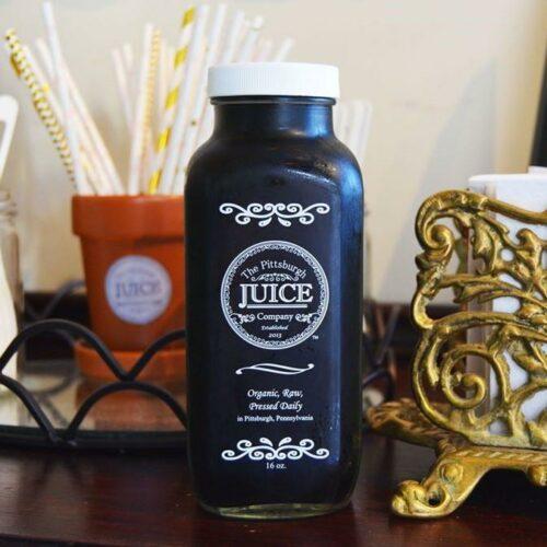 Pittsburgh Juice Company: black beauty water