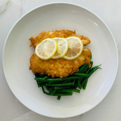 Chicken Romano with french green beans(Family)